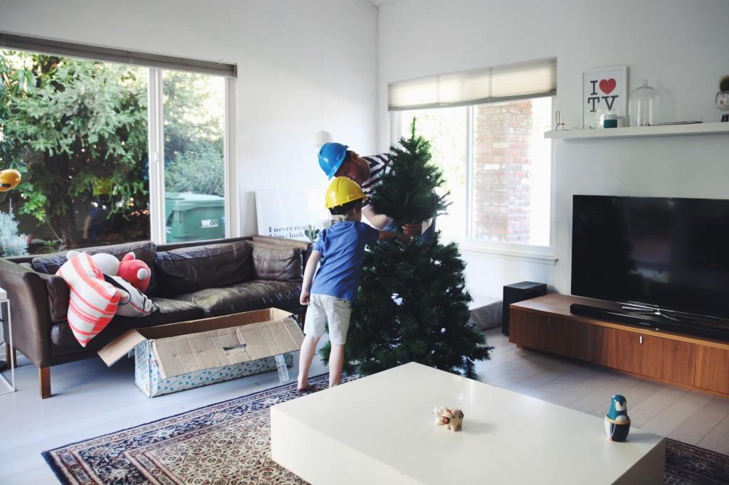 decorating christmas