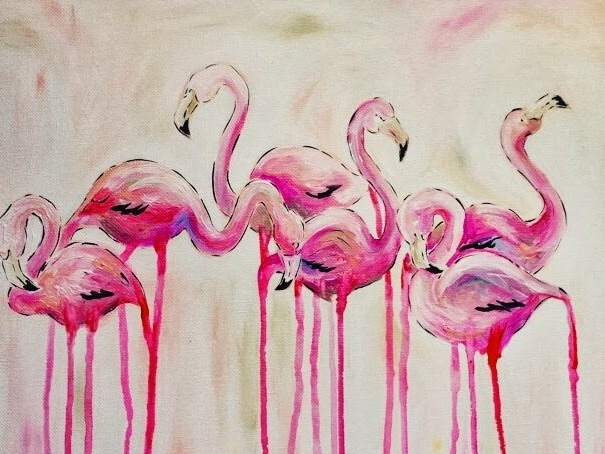 lady noel designs flamingo