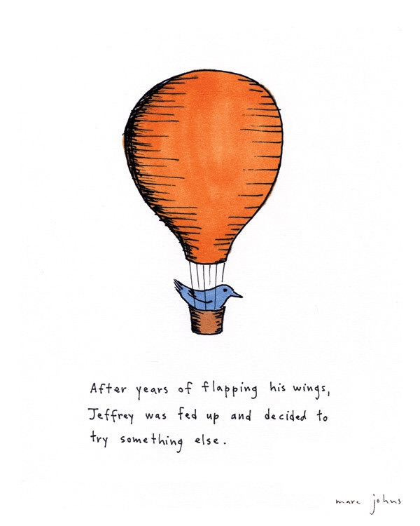 jeffrey drawing by marc johns
