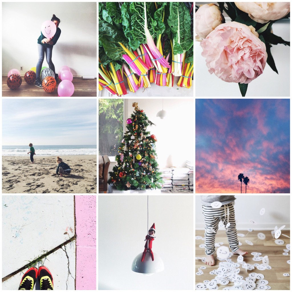 December on Instagram madebylon