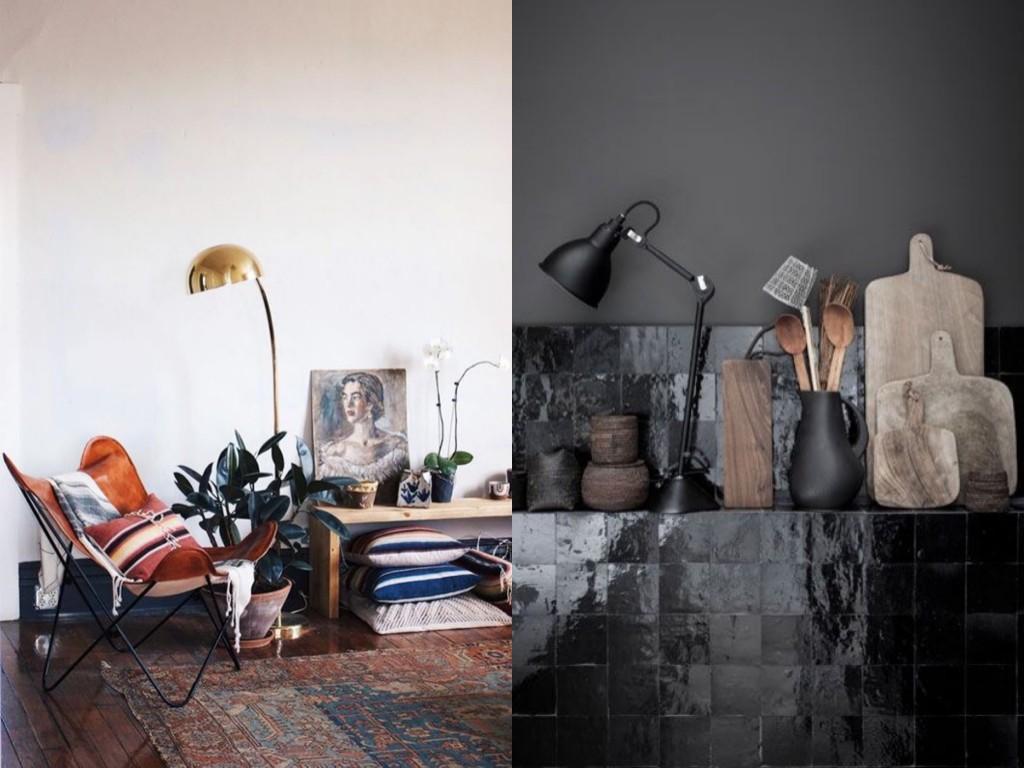 Black kitchen | The door in the wall blog
