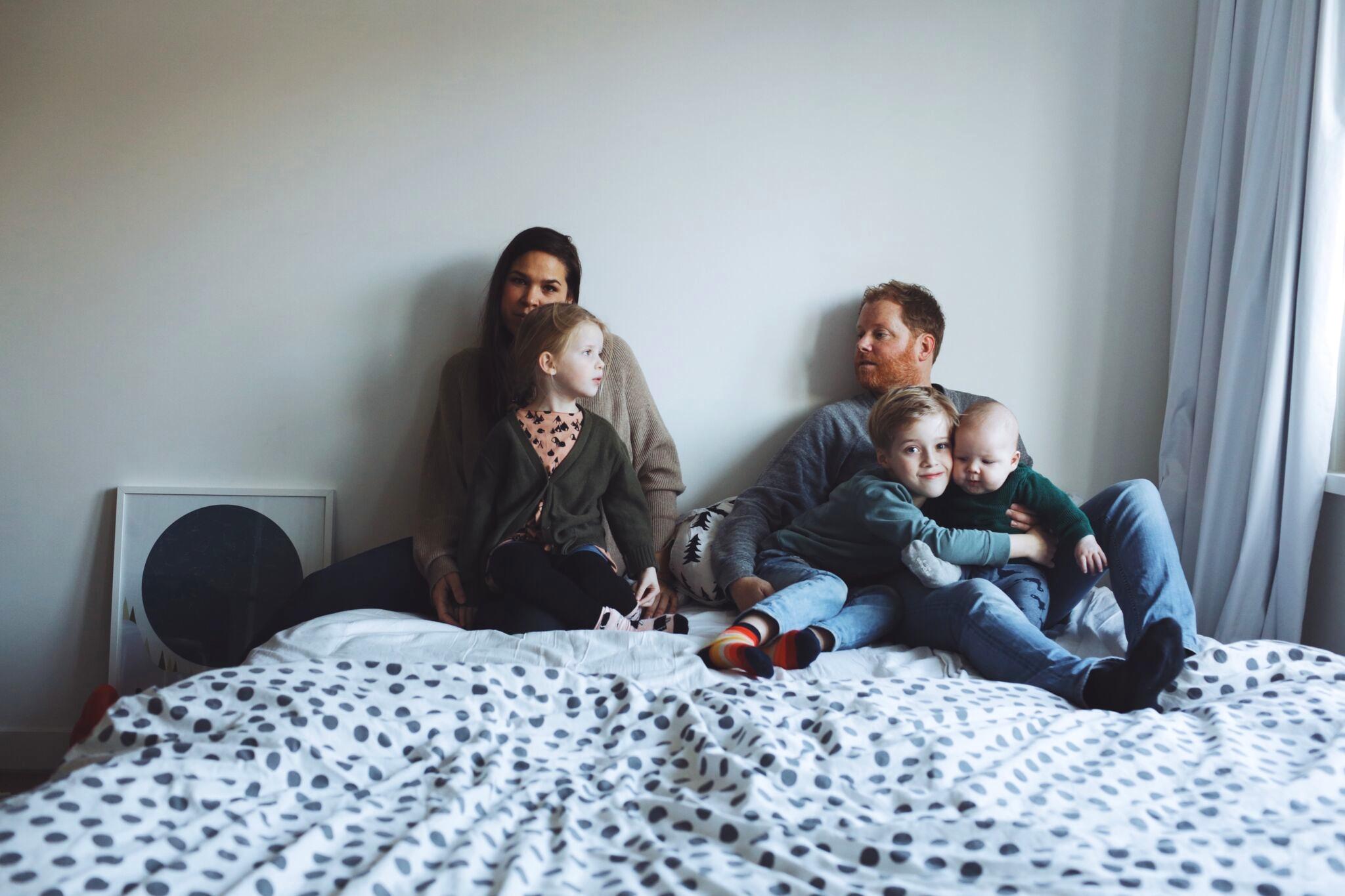 2 photos on the bed | Madelon